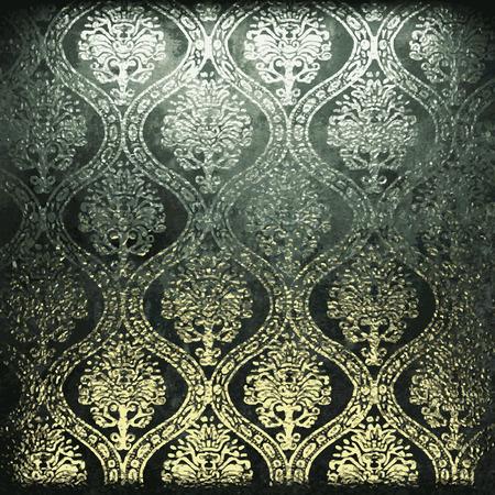 fondo de piedra: Oro de lujo en el fondo de piedra