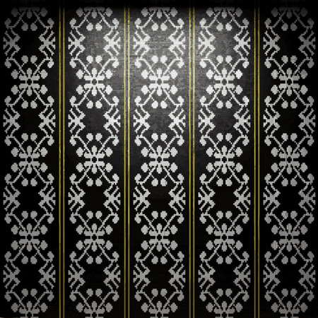 tile wall: vector illuminated tile wall background