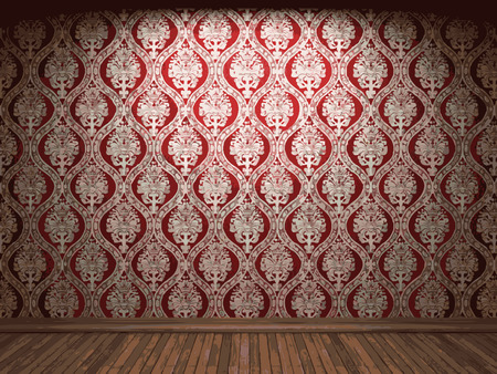 vector illuminated fabric wallpaper background Vector