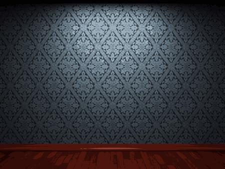 vector illuminated fabric wallpaper background Vector Illustration