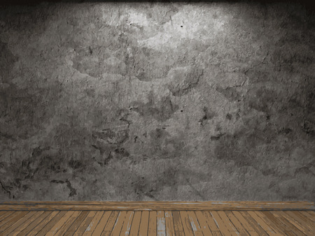 vecteur mur en béton fond Vecteurs