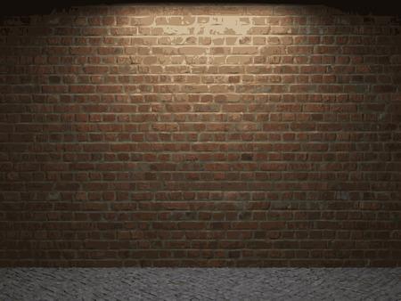 brick background: vettoriale di mattoni di fondo Vettoriali