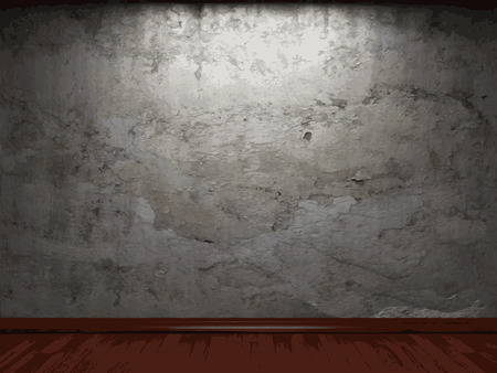 cement texture: vector concrete wall background