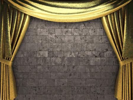 carmine: vector tel�n de fondo de oro