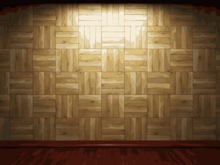 vector wooden background Vector