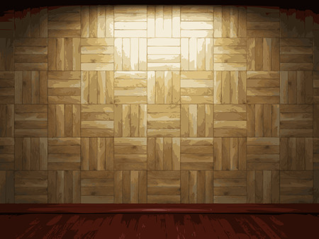 vector wooden background Vector
