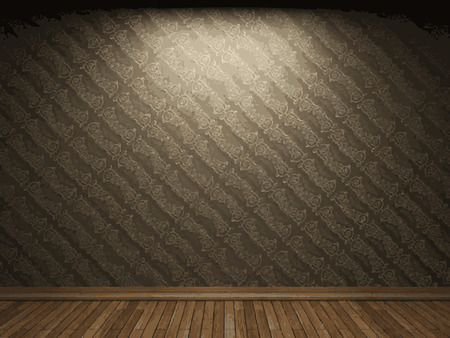 vector illuminated fabric wallpaper background Vector