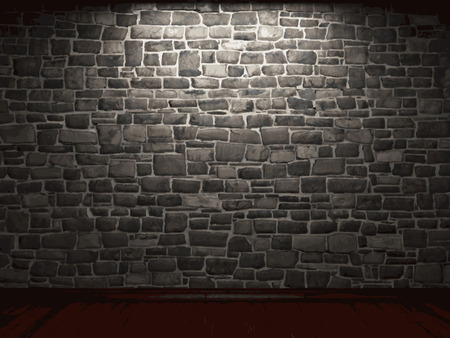 rubble: vector stone background Illustration