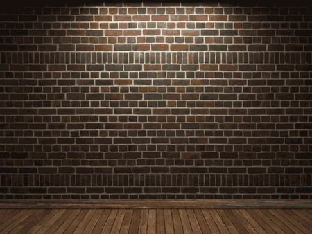 brick background: vector brick background