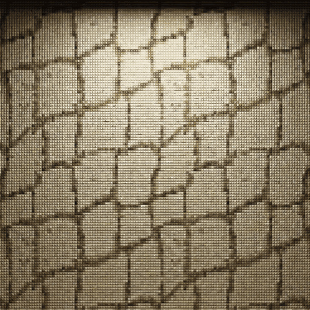 illuminated: vector illuminated tile wall background