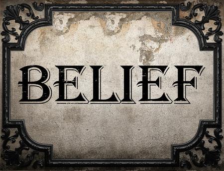 concrette 壁の信念の言葉