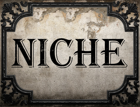 Image result for Images for the word NICHE
