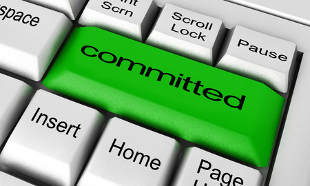 committed: committed word on keyboard button
