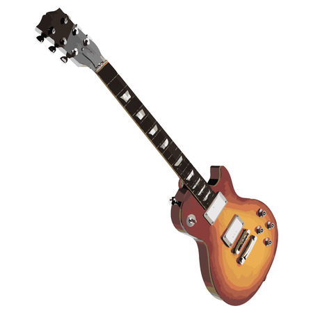 rosewood: vector guitar Illustration