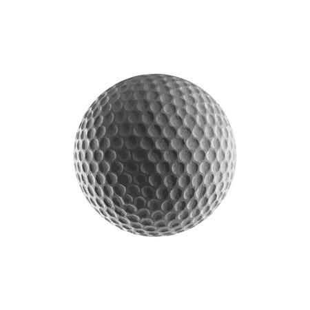 golfball: vector golf ball Illustration