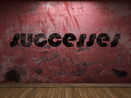 successes: successes word on red wall