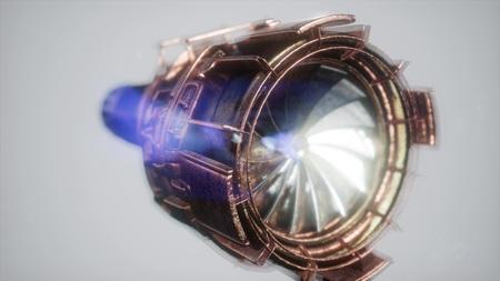 parti della turbina del motore a reazione