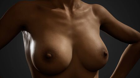 Beautiful naked body of young and sexy woman