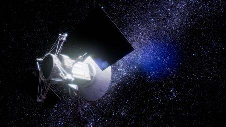 Magellan spacecraft approaching to Venus.
