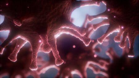 Coronavirus nCoV respiratory virus concept