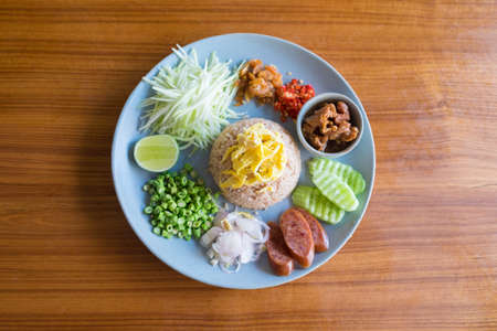 where to eat: Rice Mixed with Shrimp paste