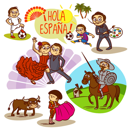 corrida: Spain Flamenco Corrida Football Travelling Clipart
