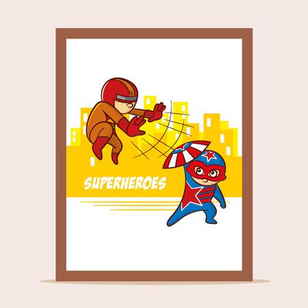 superheroes: Poster Battle of Superheroes