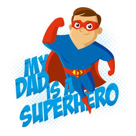 超级英雄的t恤的孩子