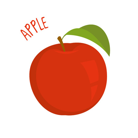 Apple vector illustration isolated