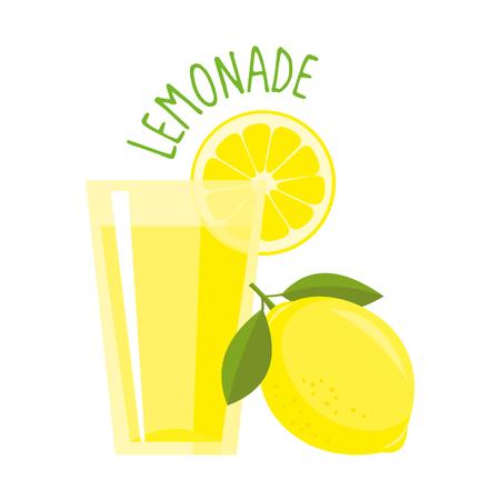 Lemonade vector illustration isolated