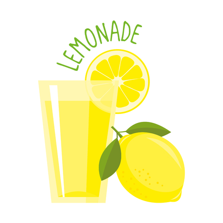 Lemonade vector illustration isolated
