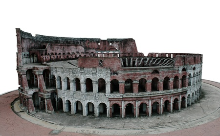 A model of Colosseum isolated