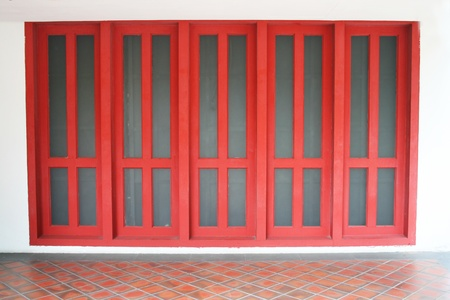 The red doors