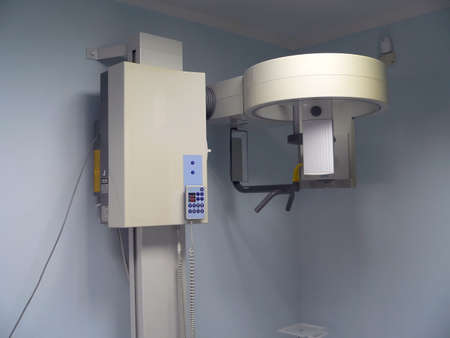 irradiation: X-rays device in dental office