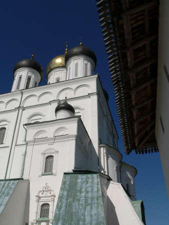 Orthodox cathedral in Pskov  (Russia) photo