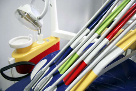 Instruments and equipment of the dental cabinet 2 Stock Photo