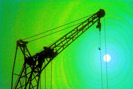 Jib of the lifting crane (super saturation) 2