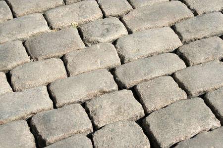 Series of the textures (stoneblock pavement 2) photo