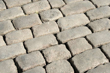 footway: Series of the textures (stoneblock pavement 2) Stock Photo