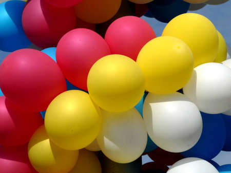 varicoloured: Colecci�n de las texturas (Varicoloured festival de globos)