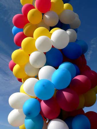 varicoloured: Varicoloured festival balloons