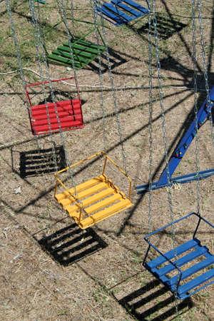 varicoloured: Varicoloured round-robins in amusement park