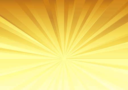 Radial pattern in golden color