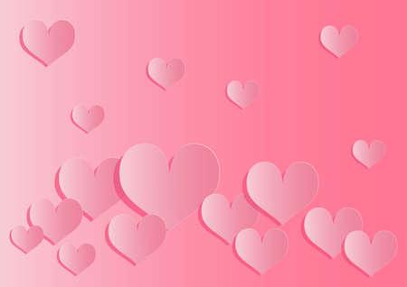 Heart wallpaper material