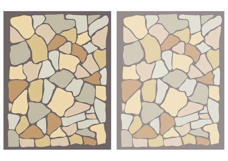 Irregular stone tile wallpaper