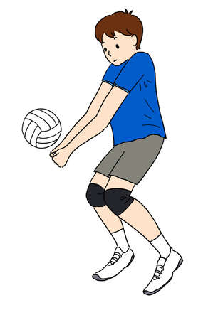 Volleyball Player (Resive) Stock fotó