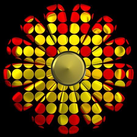 Flower illustration Stok Fotoğraf