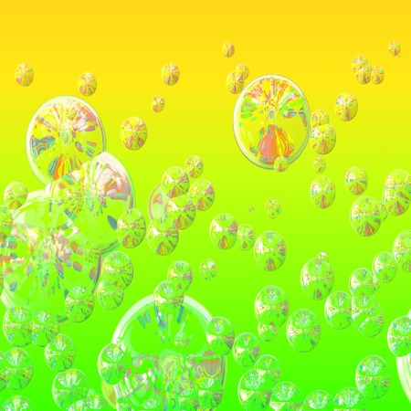 Soap bubbles floating Stock Photo - 1720735