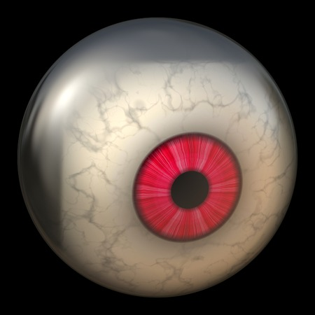 rendition: Closeup of eyeball