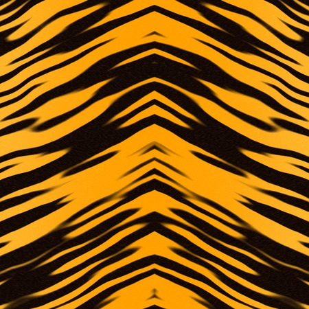 poaching: Tiger skin rug